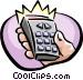 remote control Vector Clip Art image
