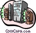stereo system Vector Clip Art picture