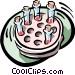 test tubes Vector Clip Art picture