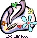 weed Vector Clipart graphic