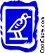 bird Vector Clip Art graphic