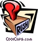 rubber stamp Vector Clipart picture