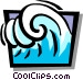 waves Vector Clip Art graphic