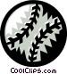 baseball Vector Clip Art image