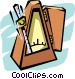 metronome Vector Clipart picture