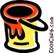 paint can Vector Clipart image