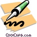 calking Vector Clip Art image