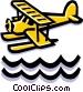 Float plane Vector Clipart image