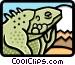 lizard Vector Clip Art graphic