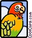 parrot Vector Clip Art picture
