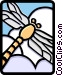 dragonfly Vector Clipart image
