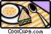 dining/food Vector Clipart picture