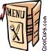 Restaurant Menu Vector Clip Art image