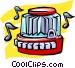 juke  box Vector Clipart graphic