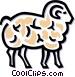 sheep Vector Clip Art image