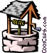 water well Vector Clip Art image