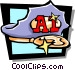 cap Vector Clipart graphic