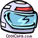 motorcycle helmet Vector Clipart graphic