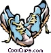 running shoes Vector Clip Art image