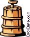 butter churn Vector Clip Art graphic