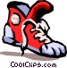running shoe Vector Clip Art graphic