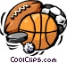 sports in general Vector Clipart picture