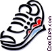 running shoes Vector Clip Art picture