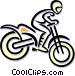 motocross Vector Clipart graphic