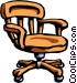 office chair Vector Clip Art image