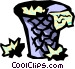 waste basket Vector Clipart graphic
