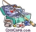 fishing/fishing tackle Vector Clipart graphic