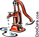Symbol of a pipe Vector Clipart graphic