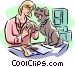 veterinary Vector Clipart illustration
