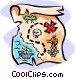 map Vector Clipart graphic