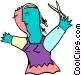 hairdresser Vector Clip Art image