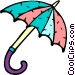 umbrella Vector Clipart illustration