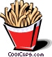 French fries Vector Clip Art picture