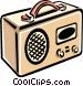 radio Vector Clipart image