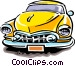 Late model automobile Vector Clipart image