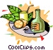 exotic drinks Vector Clipart picture