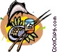 fishing Vector Clipart image
