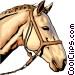 White Horse Vector Clip Art picture