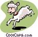lamb Vector Clip Art picture