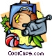 Holiday travel Vector Clip Art picture