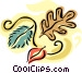 Fall leaves Vector Clip Art graphic