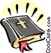 holy bible Vector Clipart image
