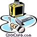 shaving equipment Vector Clipart illustration