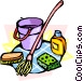 cleaning Vector Clip Art image
