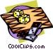 backgammon Vector Clipart graphic