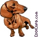 dog Vector Clipart graphic